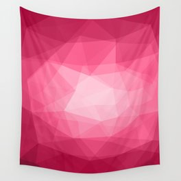 Geometric Polygonal Pattern 02 Wall Tapestry
