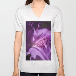 The beauty of the lilac Unisex V-Neck