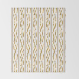 Prairie Wheat Throw Blanket