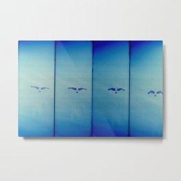 a flight Metal Print