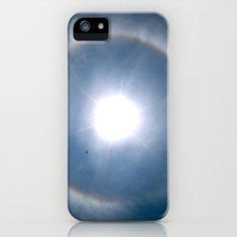 Rainbow Around the Sun iPhone Case