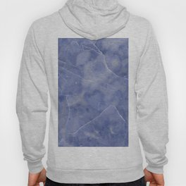 Marble Texture - Icy Blue Marble Hoody