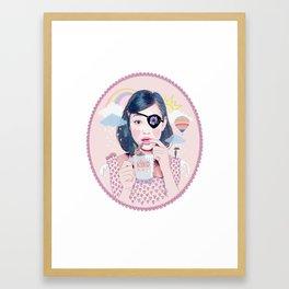 Kiko Framed Art Print