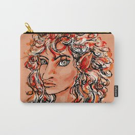 Female elf profile 1d Carry-All Pouch