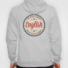 USA Official Language Hoody