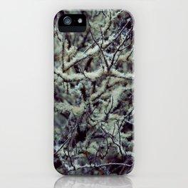 Green Lichen iPhone Case