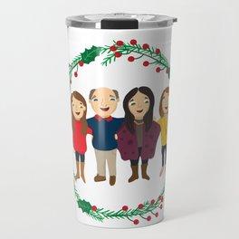 Custom Family Portait Travel Mug