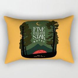 Five billion star hotel Rectangular Pillow