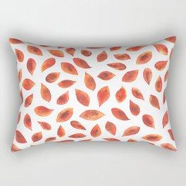 Autumn Leaves - by Rachel Whitehurst Rectangular Pillow