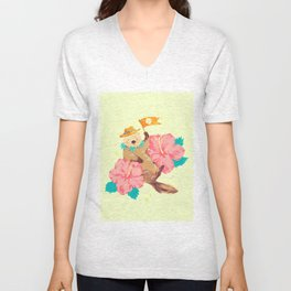 happy summer Unisex V-Neck
