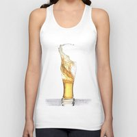 beer Tank Tops featuring Beer by Giorgio Arcuri