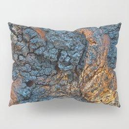 Charred Wood Texture Pillow Sham
