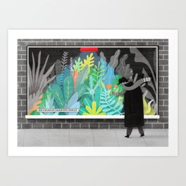 Add a splash of colour into your life Art Print