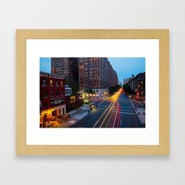 New York City Highline Framed Art Print