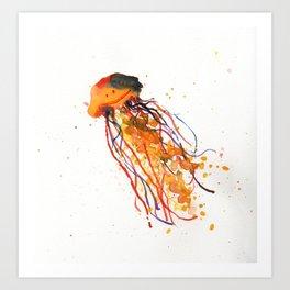 Jelly Fish Fun Art Print