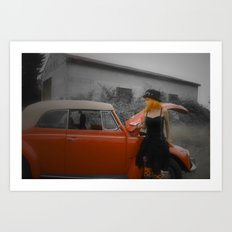 cinderella dreams Art Print
