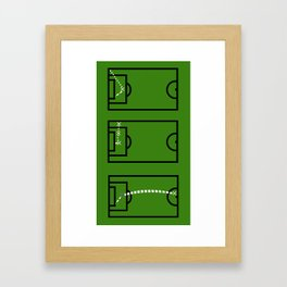 Hat Trick Hero Framed Art Print