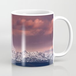 """Mysterious mountains"""". Sunset at the mountains. Coffee Mug"""