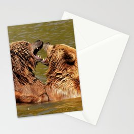 Brown Bears Stationery Cards