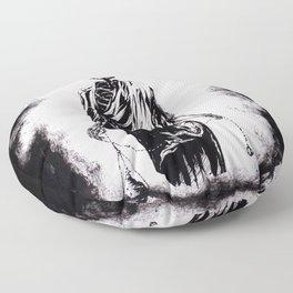 Welcoming Death Floor Pillow