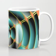 Abstract radial object Mug
