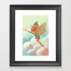 Goblins Drool, Fairies Rule! - Pixie Power Framed Art Print