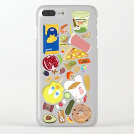 My Cravings Make No Sense Clear iPhone Case