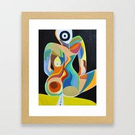 """""""Sitting In the Dark""""  Framed Art Print"""