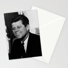 President John F. Kennedy Portrait Stationery Cards