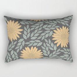 Autumn Flowers Rectangular Pillow