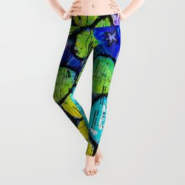 Musical Flowers Leggings