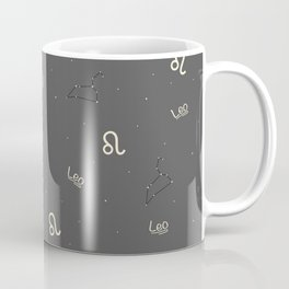 Leo Pattern Coffee Mug