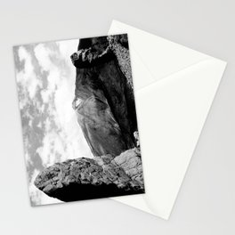 Teide in black Stationery Cards