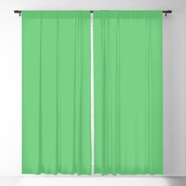 Dunn and Edwards 2019 Curated Colors Snow Pea (Bright Green) DE5634 Solid Color Blackout Curtain