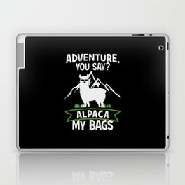 Alpaca My Bags  Travelling Laptop & iPad Skin
