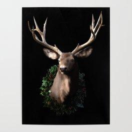 Christmas Stag Poster