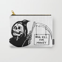 grim needs money Carry-All Pouch