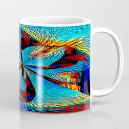 diagonal burst Coffee Mug
