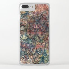 Strange Garden by Paul Klee, 1923 Clear iPhone Case