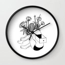 Beautiful Emptiness Wall Clock