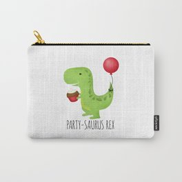 Party-Saurus Rex Carry-All Pouch