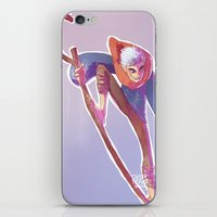 jack frost iPhone & iPod Skins featuring Jack Frost by DustyLeaves