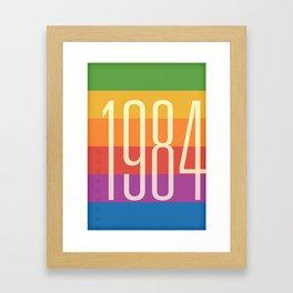 1984 (h) Framed Art Print