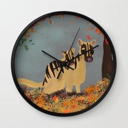Banded Palm Civet Wall Clock