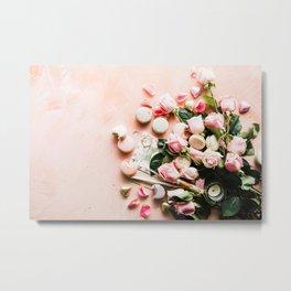 pink roses #society6 #decor #buyart Metal Print