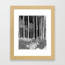 Trees II Framed Art Print