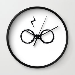 Harry Glasses and scare Wall Clock