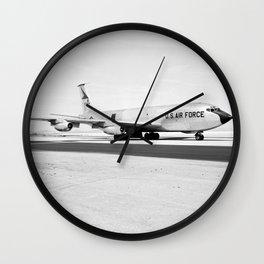 The Boeing KC-135 Stratotanker Wall Clock