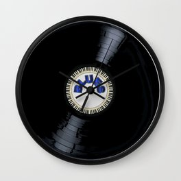 Blues Style Record Wall Clock