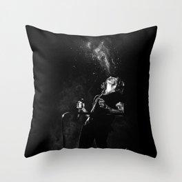Fountain Harry Throw Pillow